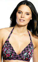 NEW Freya Venetian Soft Triangle Bikini Top 3116 Black Sizes 30-38 C-F Cups!