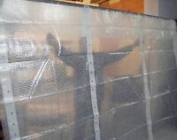 1,30 €/m²  Gerüstschutzplane ,weiße Gitterfolie , Bauplane , Gewächshausfolie