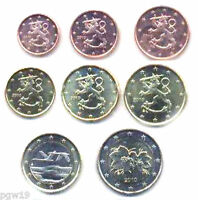 Finland 2010 - Set of 8 Euro Coins (UNC)