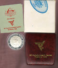 1982 $10 Brisbane Commonwealth Games - 925 Silver Proof Coin