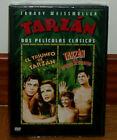 TARZAN - DVD - PRECINTADA - JOHNNY WEISSMULLER - 2 FILMS - AVENTURAS - ACCION