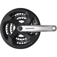 SHIMANO FC-M131 CHAINSET WITH CHAINGUARD 48/38/28T NEW *FREE P&P*