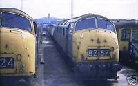 CD OF 1970s DIESEL TRAINS FROM SLIDES / NEGS 1350 SCANS