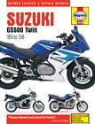 HAYNES MOTORCYCLE REPAIR MANUAL SUZUKI GS500 TWIN 89-08