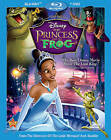 The Princess and the Frog Blu-ray/DVD, 2011, 2-Disc Set