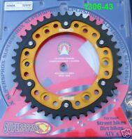 Supersprox Kettenrad Honda CBR 1000 RR, SC57, SC59, Fireblade, 43Z, 1306-43, neu
