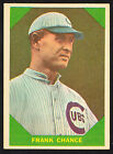 1960 FLEER BASEBALL GREATS #50 FRANK CHANCE NY YANKEES SHARP 1898-1914 NM HTF!!!