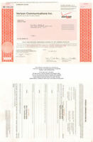 Verizon Communications   cell phone stock certificate