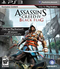 NEW PS3 Assassin's Creed 4 IV Black Flag Sony Playstation 3 Game *SEALED*