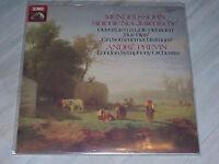 MENDELSSOHN - Sinfonie Nr.4, Italienische / EMI, LSO, André Previn / Sealed LP !