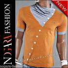 Kickdown T-Shirt Maglietta Uomo - NASTY marrone 5002 - TG. M L