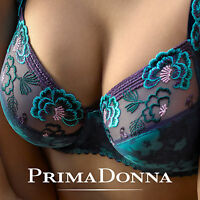 Prima Donna Madame Butterfly Ocean Full Cup Bra - Various Sizes