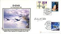 Internetstamps D-Day FDC signed by Pegasus Bridge veteran Richard Todd UACC