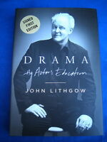 Drama An Actor's Education by John Lithgow SIGNED 2011 1st/1st  HCDJ
