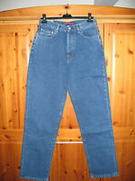 Mens Blue Denim Jeans 32 Waist 32 Leg Designer Firetrap New