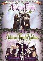 Addams Family Values Double Feature DVD 1-Disc Movie Halloween Comedy Adams NEW