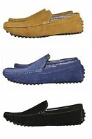 New Men's Leather Look Desgner Shoes ItalianLoafer Casual Moccasin UK 6-11