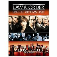 Law & Order: Special Victims Unit Fourth Year Season 4 (DVD, 2007, 5-Disc)
