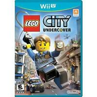 NEW  --  LEGO CITY UNDERCOVER  -- Nintendo Wii U  * Brand New & Sealed *