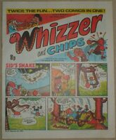 WHIZZER AND CHIPS COMIC 8th APRIL1978 FACSIMILE FINE CONDITION