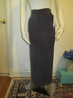 NWT CYNTHIA MAX Gray/Purple full length skirt size S MRSP $88