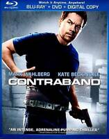 Contraband (Blu-ray/DVD, 2012, 2-Disc Set sealed with slip cover dmg to dc/sc