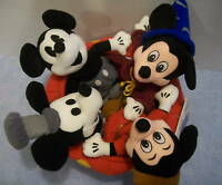 DISNEY'S  MICKEY MOUSE 70 HAPPY YEARS Collectible Bean Bag Plush