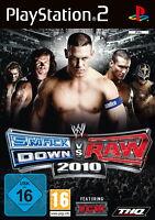 WWE SmackDown vs. Raw 2010 (Sony PlayStation 2, 2010, DVD-Box) - neu + OVP
