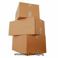 """STRONG LARGE 18x12x12"""" Double Wall Moving Shipping Postal Cardboard Boxes"""