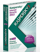 Kaspersky Internet Security 2012 3 PC 1 Year Protection - NEW - FREE SHIPPING™