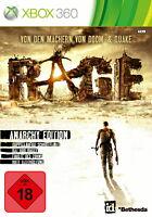 RAGE -- Anarchy Edition (Microsoft Xbox 360, 2011, DVD-Box)