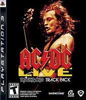 Ac/Dc Live: Rock Band Track Pack  - Sony Playstation 3 - BRAND NEW