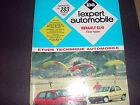 RENAULT CLIO Tous types REVUE TECHNIQUE AUTOMOBILE 1991 EXPERT
