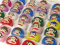 WHOLESALE 100 pcs Lovely Kids/children's Resin rings