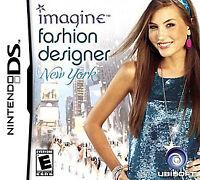 Imagine Fashion Designer New York Complete Nintendo Ds Game Ebay