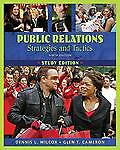 Public Relations: Strategies and Tactics Study Edition (9th Edition)-ExLibrary