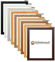 Photo Frames Picture Frames Panoramic Square Frames Wooden Effect DIY Frames