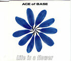 MAXI CD ACE OF BASE LIFE IS A FLOWER DE 1998 5 VERSIONS NEUF