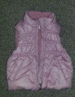 Cherokee baby girl pink spotted bodywarmer/gilet, 9-12mths