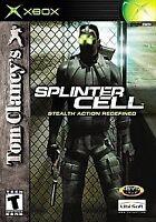 Tom Clancy's Splinter Cell (Microsoft Xbox, 2002) VERY GOOD
