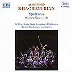 Brand New SEALED Naxos CD - Khachaturian : Spartacus (Suites Nos. 1 - 3)