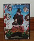 CHARLIE Y LA FABRIQUE DE CHOCOLAT - DVD - NEUF - SCELLÉ - JOHNNY DEPP