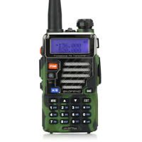 Camouflage BaoFeng UV-5R Plus Qualette 2m/70cm Walkie-Talkies Radio Funkgerät