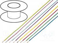 100 m Cordon; LiYv; corde; Cu; 1mm2; noir; PVC; 900V; 100m; Classe:5