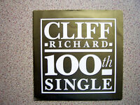 "CLIFF RICHARD - THE BEST OF ME 7""  100th single pic sleeve"
