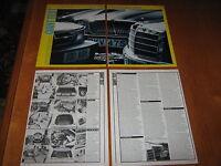 Saab 900 CD Turbo, Jaguar Jag  XJ6 3.4, Mercedes Merc 280 SE article