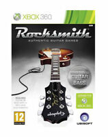 ROCKSMITH with Cable ~ Microsoft XBOX 360 ~ BRAND NEW & SEALED ~ RARE