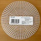 plastica tela 7 CONTE 11.4Cm 11.5CM CERCHI confezione da 10