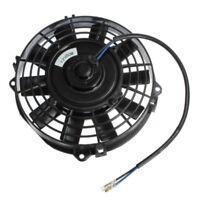 "7"" inch Electric Radiator/Intercooler 12v Slim Cooling Fan + Fitting Kit W4U1"
