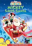 DISNEY'S MICKEY MOUSE SAVES SANTA CLUBHOUSE DVD PREOWNED